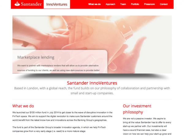 Santander InnoVentures Impulsando Inversiones en Fintech