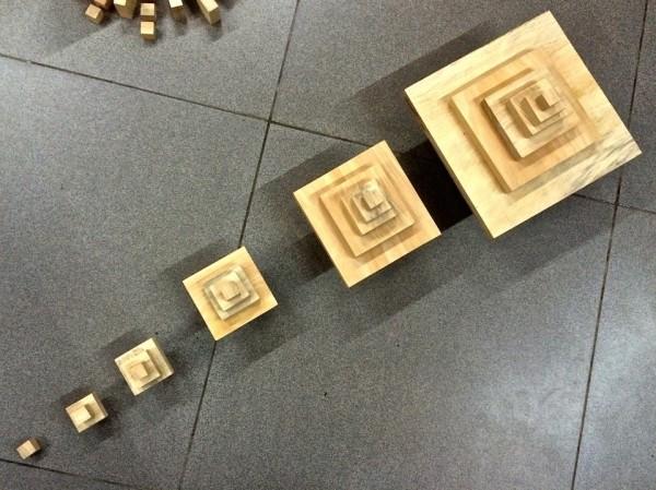Fibonacci Blocks Juega a ser Michelangelo Éxito en Indiegogo