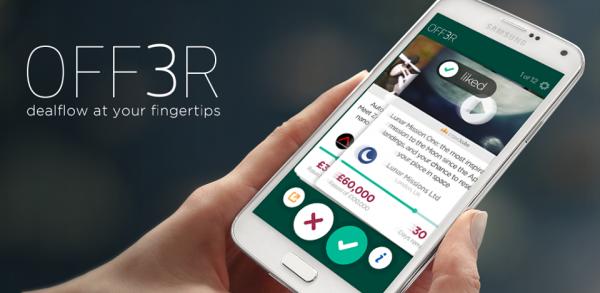 Off3r Oportunidades de Inversión en tu Smartphone