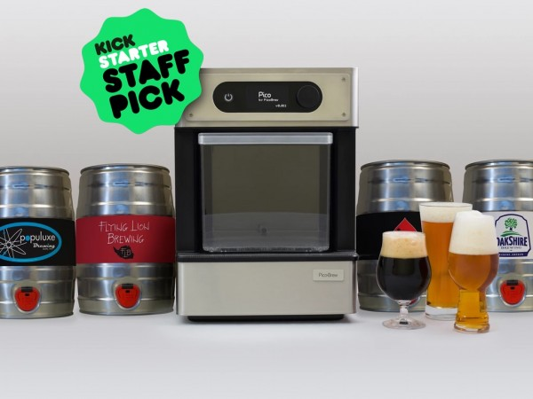 Pico Cerveza Artesana en Casa Éxito en Kickstarter