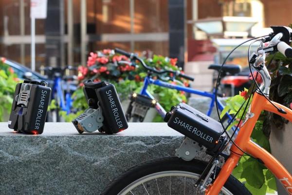 Convierte tu Bicicleta en un Vehículo Eléctrico con ShareRoller Financiado en Indiegogo
