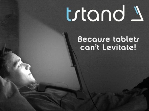 Tstand Levita tu Tableta Éxito en Kickstarter