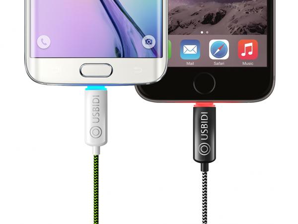 USBIDI Cargador de Smartphones Inteligente Cuida tu Batería Arrasa en Kickstarter