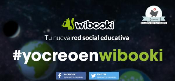 Wibooki Red Social Educativa en Goteo