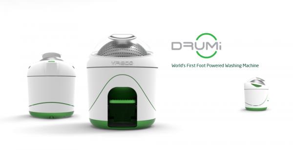 Drumi, Innovadora Lavadora Éxito en Indiegogo
