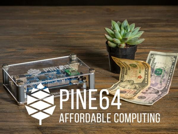 Pine A64 Ordenador de 64 Bit Expandible por 15 $ en Kickstarter