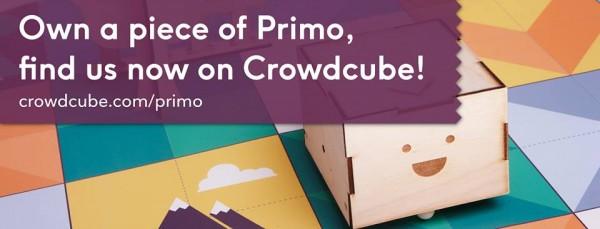 Primo Jugar con Tecnología Oportunidad en Crowdcube