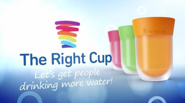 The Right Cup Convierte el Agua en un Sabroso Refresco