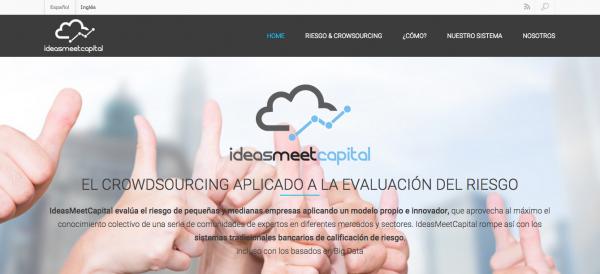 IdeasMeetCapital Evalúa el Riesgo de Inversión vía Crowdsourcing