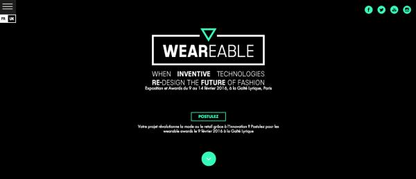 Wearable Evento dirigido a la Tecnología y Moda en París