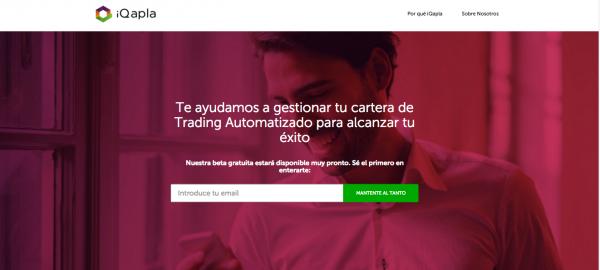 iQapla, Gestión de Carteras para Trading Automatizado