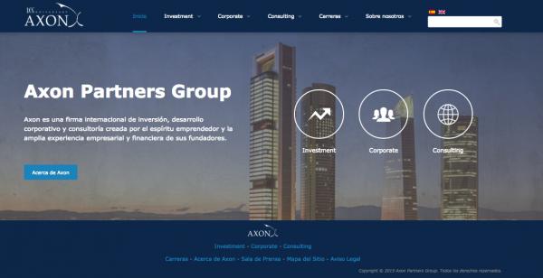 Axon Partners Group, Desarrollo Corporativo e Inversión Internacional