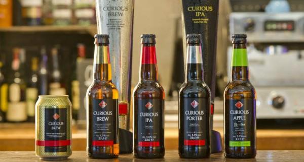 Curious Brew, Cerveza de Lujo Inglesa en Seedrs
