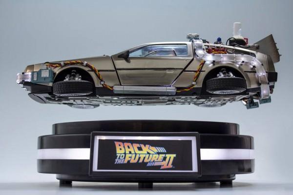 Llévate el 1:20 DeLorean y Regresa al Futuro con Indiegogo
