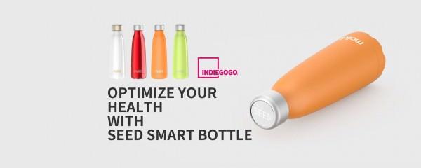 Seed, Botella Inteligente te Mantiene siempre Hidratado en Indiegogo