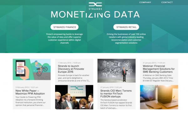 Strands, Soluciones de Software Innovadoras para la Banca