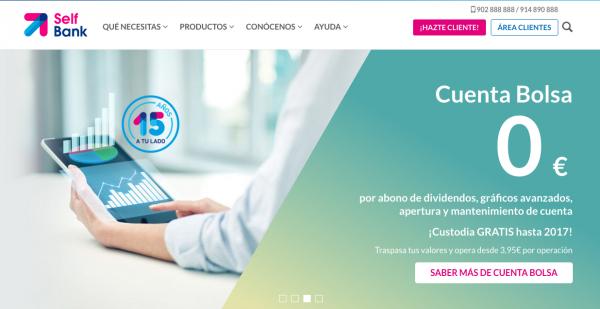Selfbank, Banco para los que Entienden el Mundo de Manera Digital