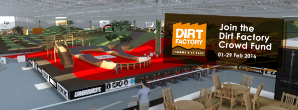 Dirt Factory, Trials y Competiciones de Bicicletas en Crowdcube