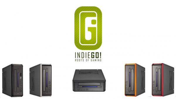 indieGo, una Consola de Videojuegos Retro en Kickstarter