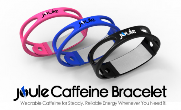 Joule, Pulseras con Cafeína Éxito en Indiegogo