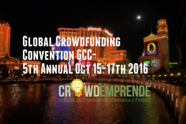 Crowdemprende en el 5th Global Crowdfunding Convention de Las Vegas