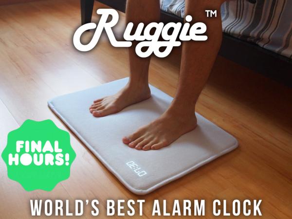 Ruggie, Despertador que Consigue Más de 400K $ en Kickstarter