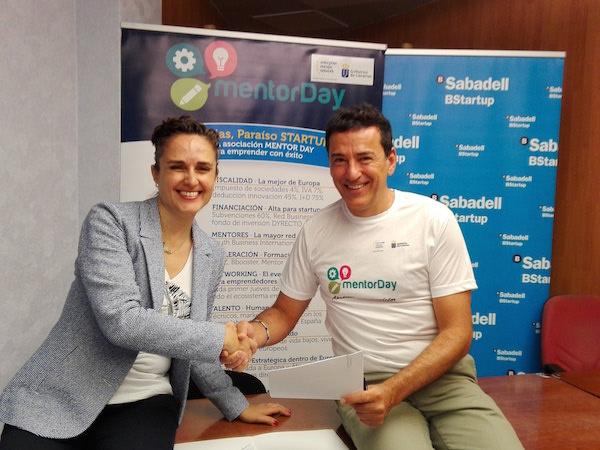 Mentor Day y Banco de Sabadell aúnan Fuerzas a favor de los Emprendedores
