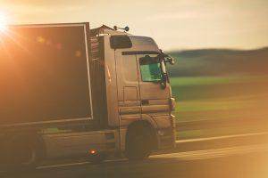 El transporte de mercancía refrigerada