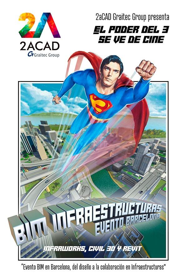 BIM para infraestructuras se estrena en cines de la mano de 2aCAD