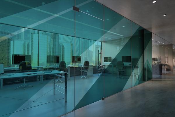 Crear despachos con mamparas de oficina