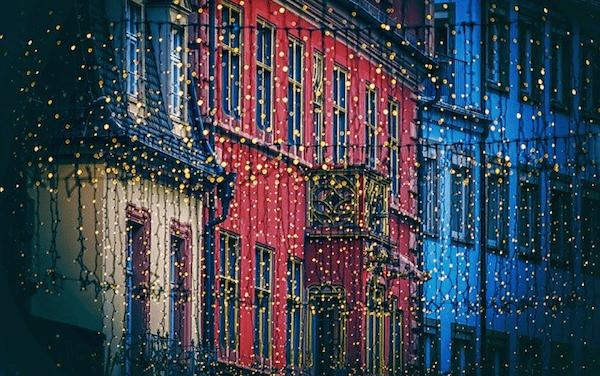 El deslumbrante alumbrado navideño de las ciudades