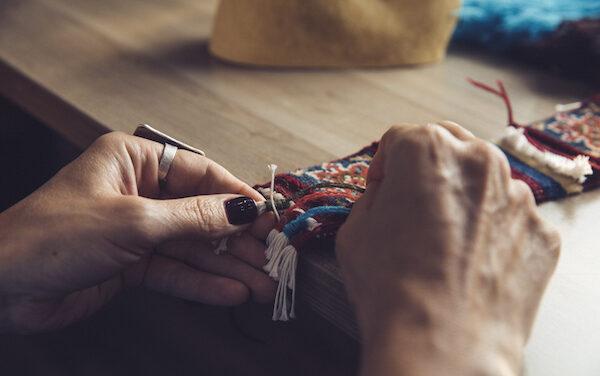Fruto Samore, un espacio para los amantes de las artesanías textiles