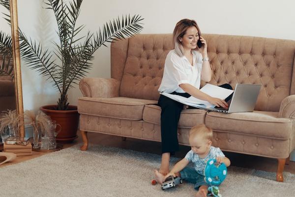 Consejos para emprendedores que acaban de tener un bebé